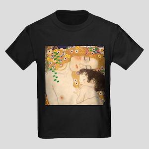 Klimt Mother and Child vintage art T-Shirt