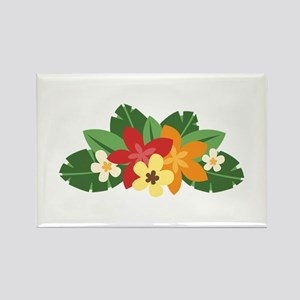 Tropical Flowers Magnets