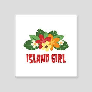 Island Girl Sticker
