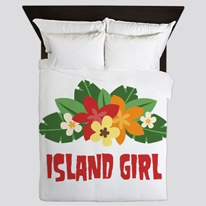 Island Girl Queen Duvet