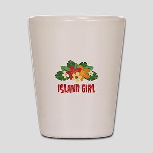 Island Girl Shot Glass