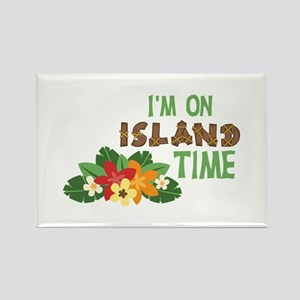 Im On Island Time Magnets