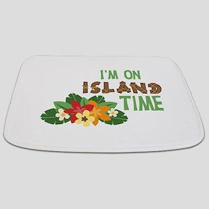 Im On Island Time Bathmat