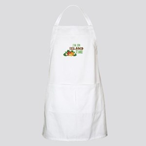 Im On Island Time Apron
