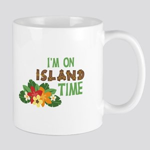 Im On Island Time Mugs