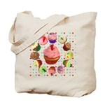 Eileen's Lovehearts Cupcakes Tote Bag