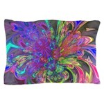 Glowing Burst of Color Pillow Case