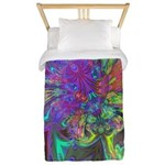 Glowing Burst of Color Twin Duvet