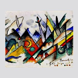 Franz Marc - Sonatine for Violin and Throw Blanket