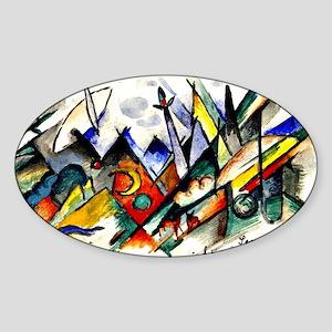 Franz Marc - Sonatine for Violin an Sticker (Oval)