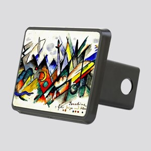 Franz Marc - Sonatine for  Rectangular Hitch Cover