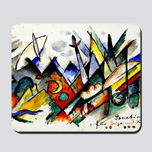 Franz Marc - Sonatine for Violin and Pia Mousepad