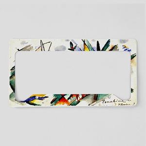 Franz Marc - Sonatine for Vio License Plate Holder