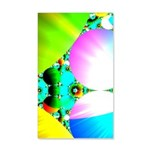 Crystal Sunrise Abstract 20x12 Wall Decal