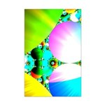 Crystal Sunrise Abstract Mini Poster Print