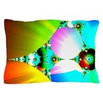Crystal Sunrise Abstract Pillow Case