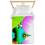 Crystal Sunrise Abstract Twin Duvet