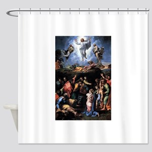 Transfiguration Shower Curtain