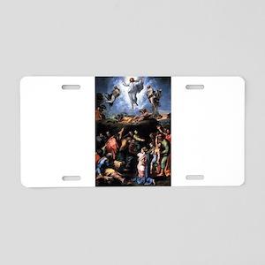 Transfiguration Aluminum License Plate