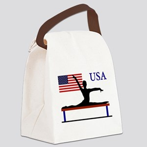 USA Gymnastics Canvas Lunch Bag