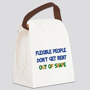 Flexible People Canvas Lunch Bag