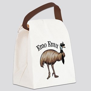 Emo Emu Canvas Lunch Bag