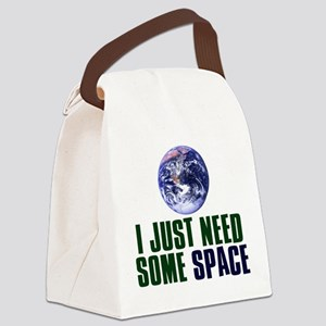 Astronaut Humor Canvas Lunch Bag