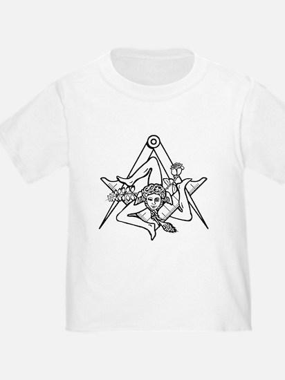 Freemasons Sicilian Trinacria T-Shirt