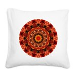 Firewalk Abstract Square Canvas Pillow