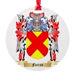 Farran Round Ornament