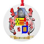 Farrah Round Ornament