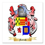 Farrah Square Car Magnet 3