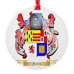 Farra Round Ornament