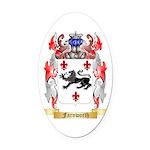 Farnworth Oval Car Magnet
