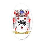Farnsworth Oval Car Magnet