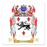 Farnsworth Square Car Magnet 3