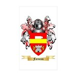 Farneau Sticker (Rectangle 50 pk)