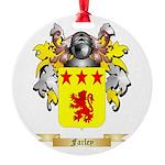 Farley Round Ornament
