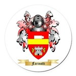 Farinotti Round Car Magnet