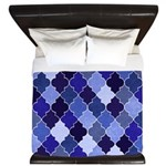 Morocco Blue King Duvet