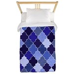 Morocco Blue Twin Duvet