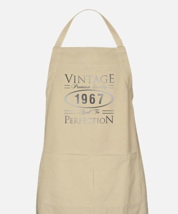 Vintage 1967 Birthday Light Apron