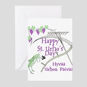StUrhoLogo1 Greeting Cards