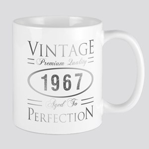 Vintage 1967 Birthday Mugs
