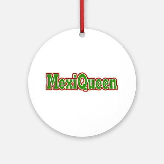 MexiQueen Ornament (Round)