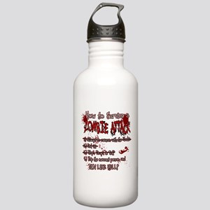 Zombie Attack Survival Water Bottle