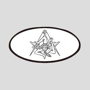 Freemasons Sicilian Trinacria Patches