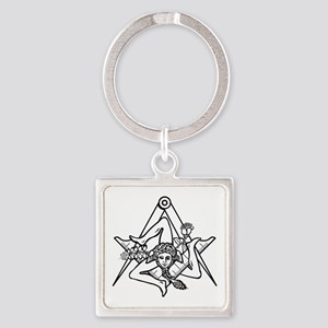 Freemasons Sicilian Trinacria Keychains