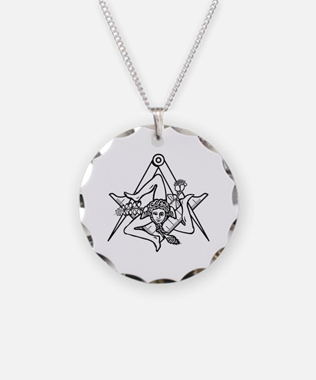 Freemasons Sicilian Trinacri Necklace