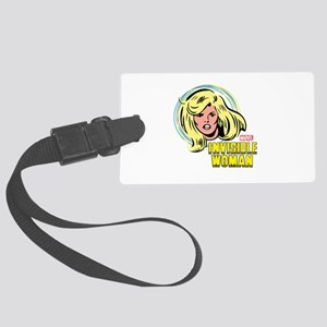 Invisible Woman Large Luggage Tag